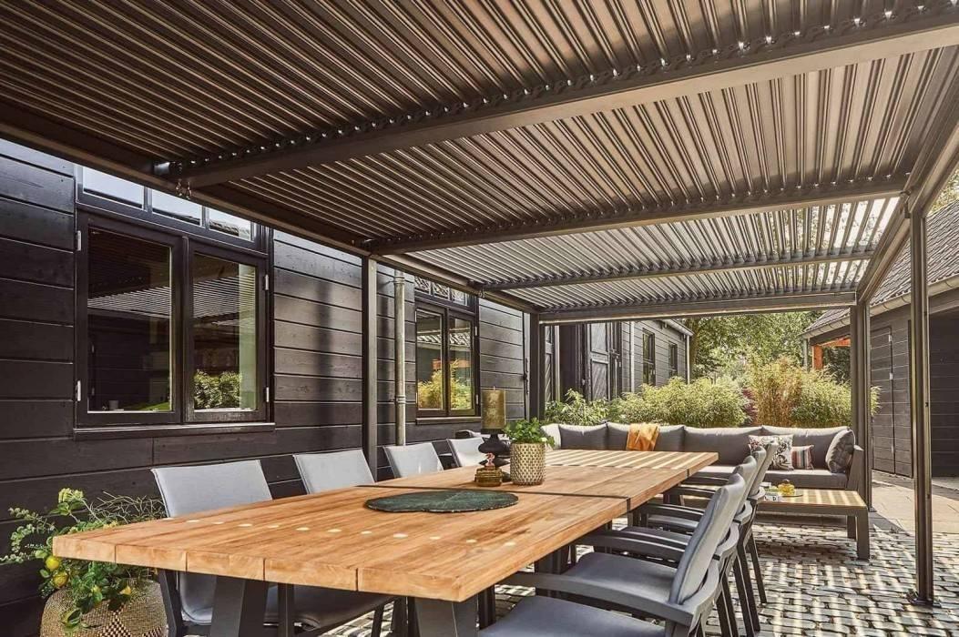 Velký zahradní altán-užívejte si léto za každého počasí