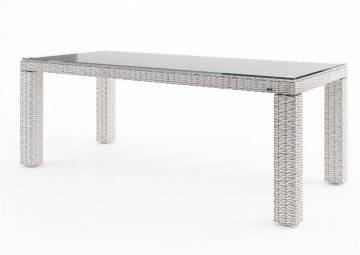 Zahradní stůl RAPALLO 220 cm royal bílý