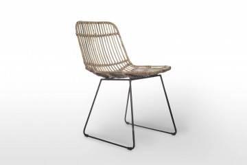 Zahradní ratanová retro židle  DINAN