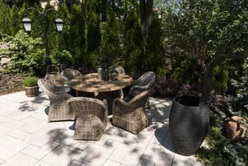 Zahradní souprava BORDEAUX teak V