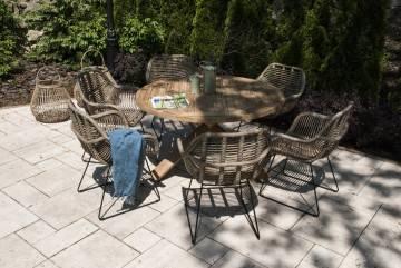 Zahradní souprava BORDEAUX teak X