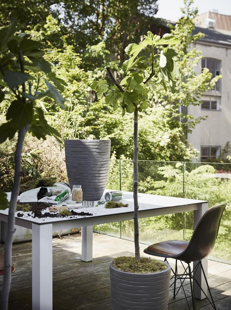 Zahradní květináč RWI951 57cm
