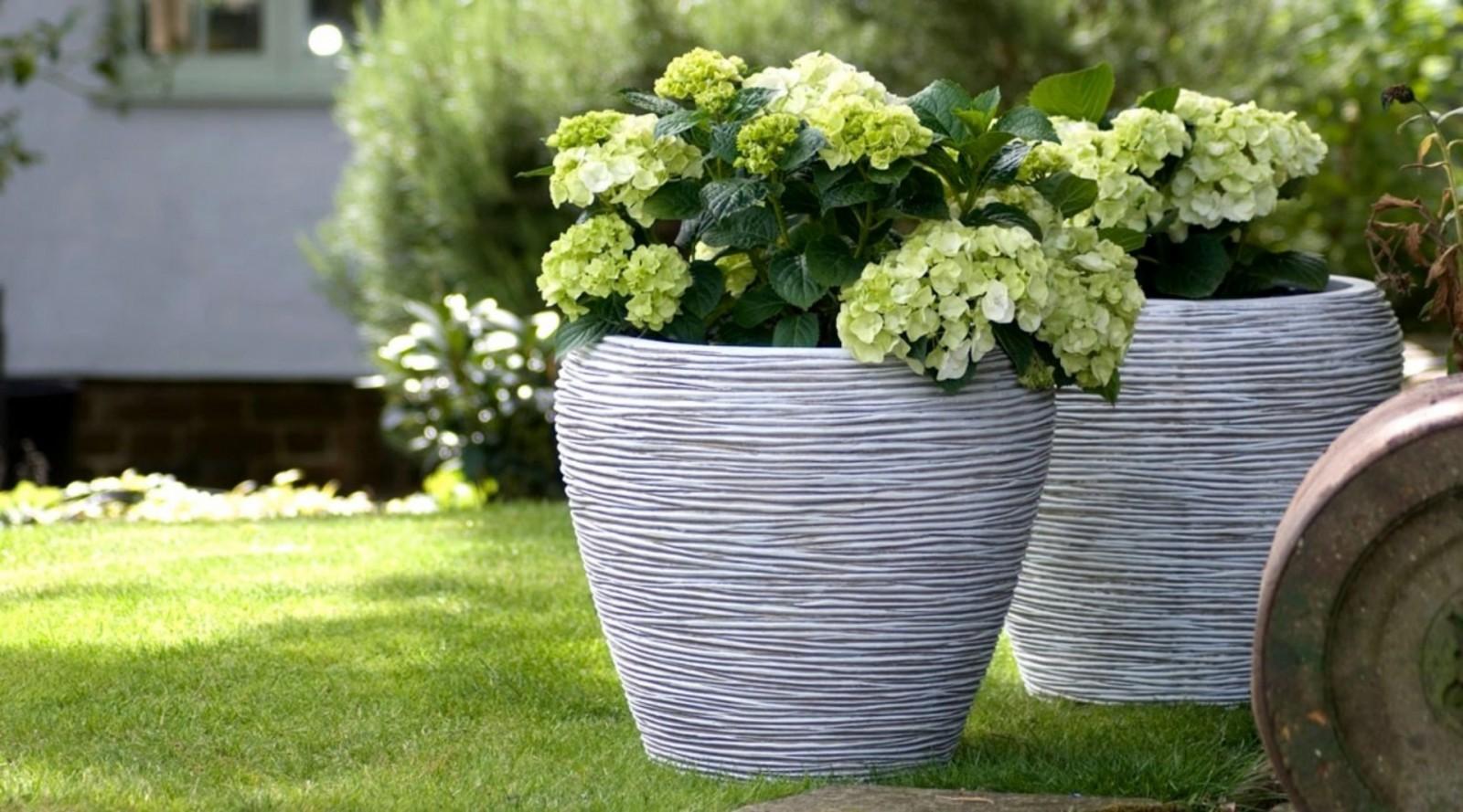 Zahradní květináč RWI1132 84cm