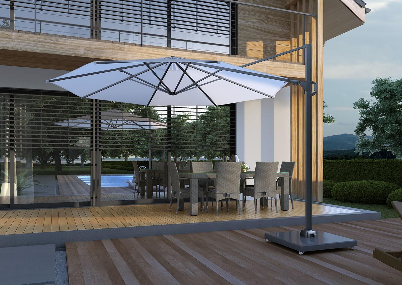 Zahradní slunečník Challenger T² Premium Ø3.5m
