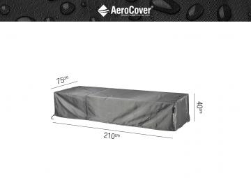 Ochranný kryt na zahradní lehátko 210x75x40cm