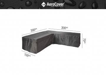 """Ochranný kryt na zahradní nábytek """"L"""" 300x300x100x70cm"""