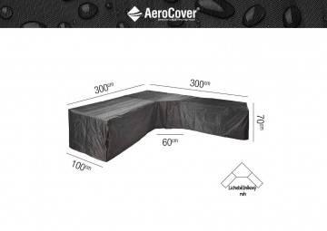"Ochranný kryt na zahradní nábytek ""L"" 300x300x100x70cm (T)"
