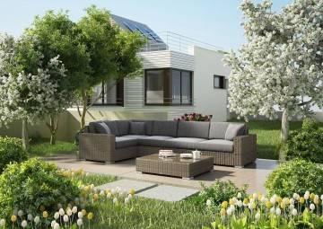 Zahradní nábytek MILANO II písek