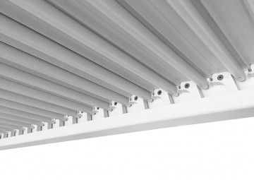 Hliníková pergola MARANZA 360cm matná bílá