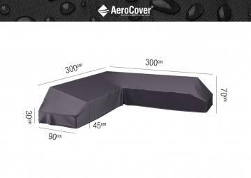 Ochranný kryt na zahradní nábytek 300x300x90x30-45-70