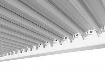 Hliníková pergola MARANZA 540cm matná  bílá