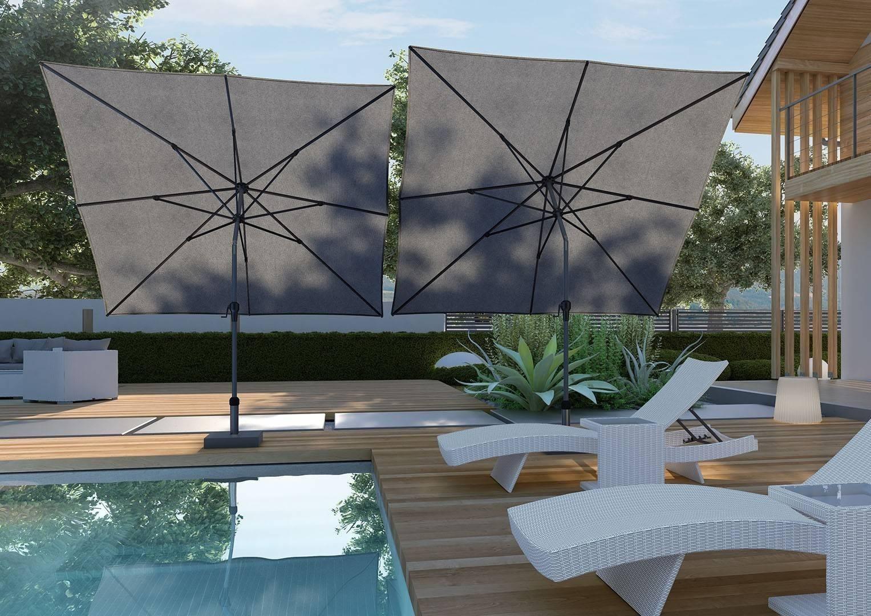 RIVA zahradní slunečník 3x2m