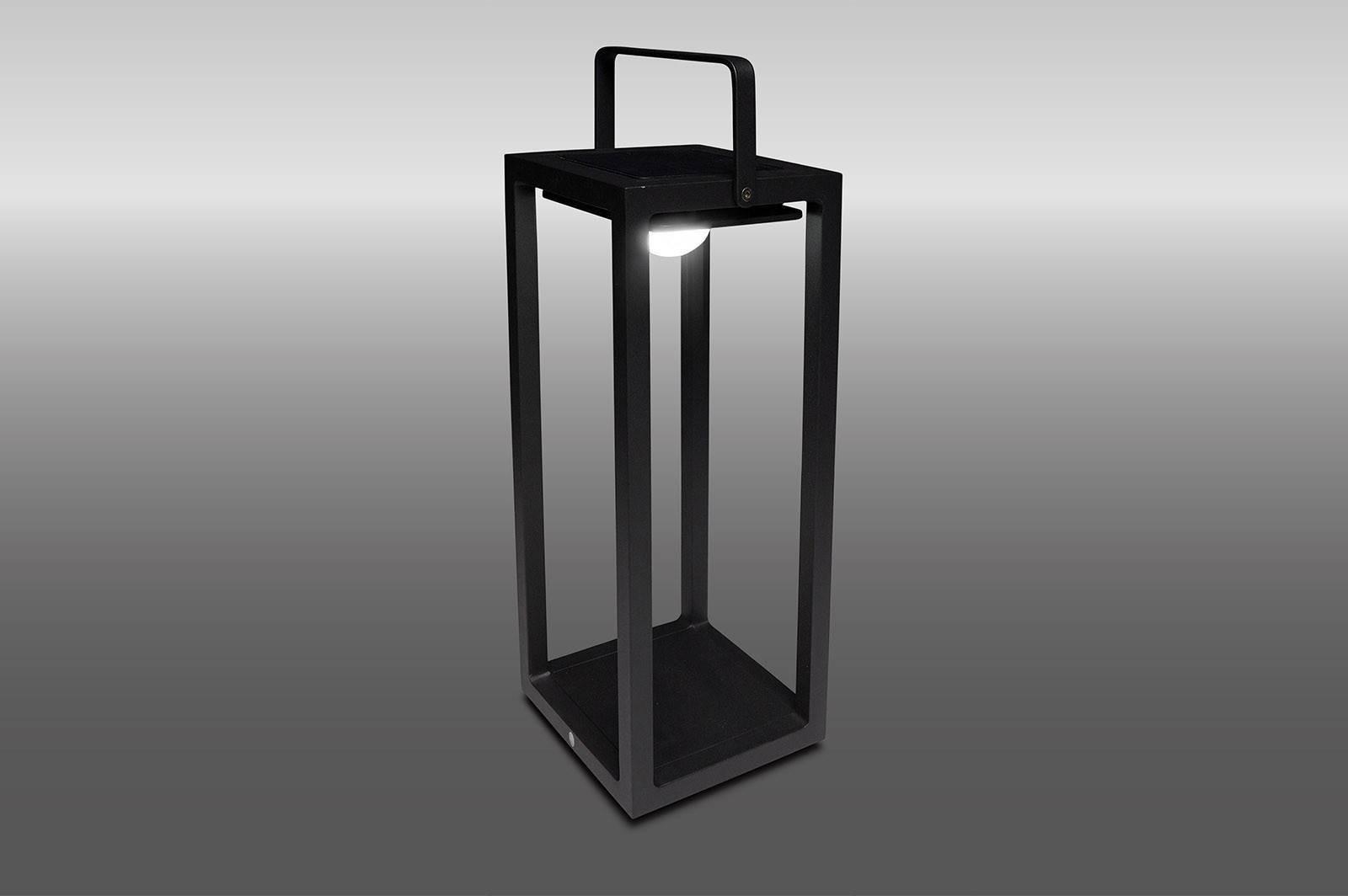 SOLÁRNÍ LAMPA JACK ROYAL GREY 20X20X50 CM