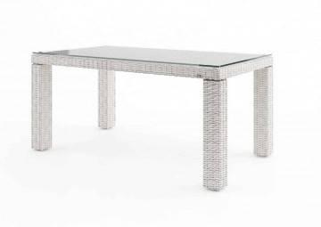 Zahradní stůl RAPALLO 160 cm royal bílá