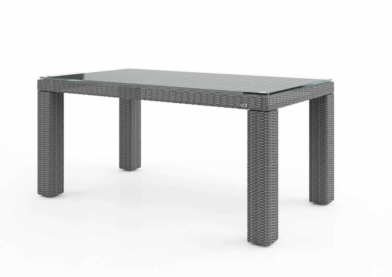 Zahradní stůl RAPALLO 160 cm royal šedá