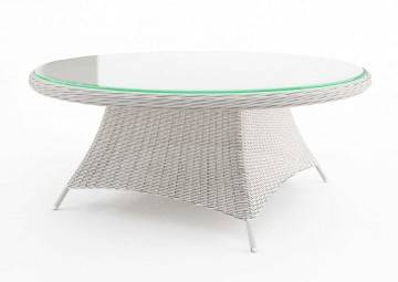 Zahradní stůl RONDO 180 cm royal bílá