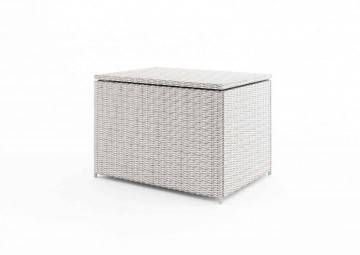 Zahradní truhla/box SCATOLA 100 cm royal bílá