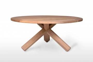 Zahradní stůl BORDEAUX teak ⌀150 cm