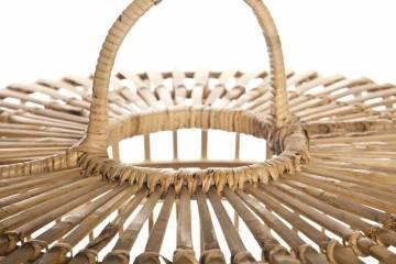 Bambusová lampa TOULOUSE ⌀96CM X VYŠ. 72CM přírodní