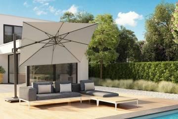 Zahradní slunečník Challenger T² Premium 3,5m x 2,6m